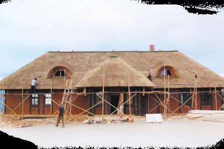 Dachy z trzciny a niebezpieczeństwo pożaru