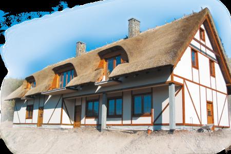 Krycie dachów trzciną – właściwości