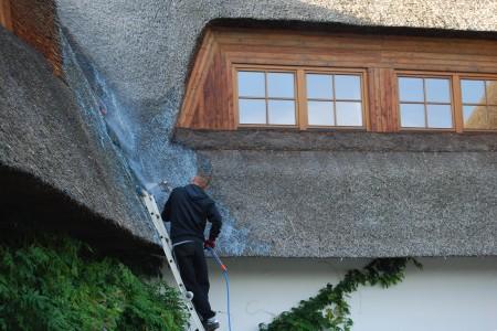 Dachy z trzciny- rodzaje impregnacji